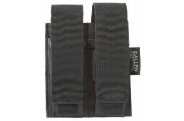 Allen MOLLE Rig Double Handgun Mag Pouch Fits .380-.45 ACP Black