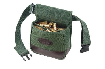 Allen Shooters Bag With Belt Green Canvas 2102