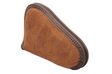 Allen Suede Leather Pistol Case, 8 Inch, Rust Color