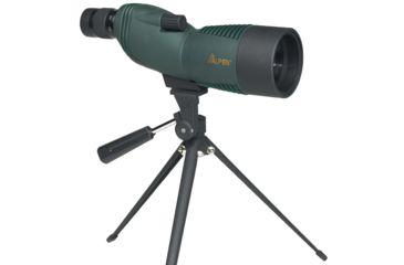 Alpen 15-45x60mm Compact Straight Spotting Scope, Green 725