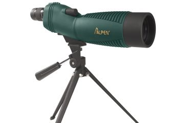 Alpen 18-36x60mm Straight Spotting Scope, Green 735