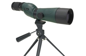 Alpen 20-60x60 Waterproof Straight Spotting Scope With Tripod, Nylon Case 742