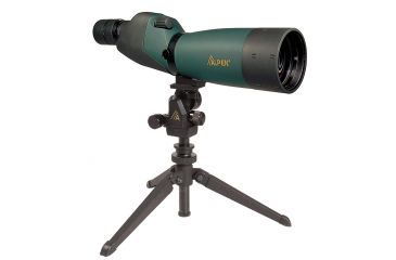 Alpen 20-60x80 Waterproof Straight Micro Adjust Spotting Scope w/ Tripod - 768Scope