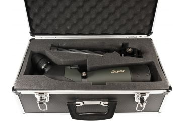 Alpen 20-60x80mm Angled Spotting Scope w/ Tripod and Travel Case