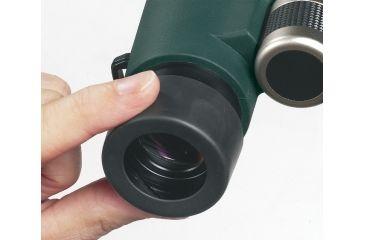 Alpen Rainier 10x42 HD ED Waterproof Long Eye Relief Roof Prism Binoculars, Matte 77