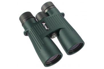 Alpen Shasta Ridge 10x50 Waterproof Phase Roof Prism Binoculars, Green - 388SR