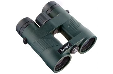 Alpen Wings 8x42 Roof Prism Binoculars, Green 585