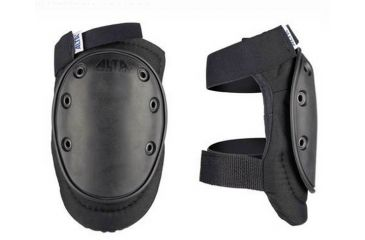 Alta Tactical AltaFLEX Knee Pads, Black, Velcro AT50410-00