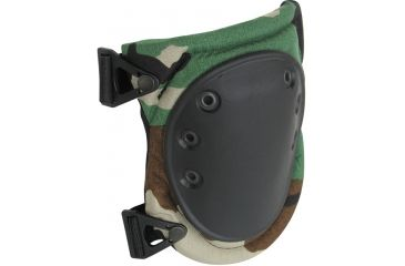 Alta Tactical AltaFLEX Knee Pads, Woodland Camo, AltaLok AT50413-08