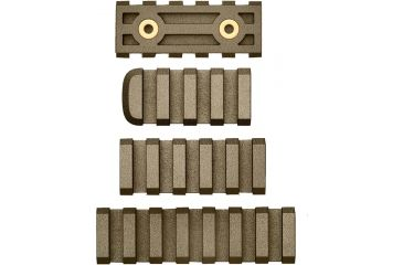 American Built Arms Company LTF Rail, 7 Slot, Combo- 4, 5, Flat Dark Earth 102279