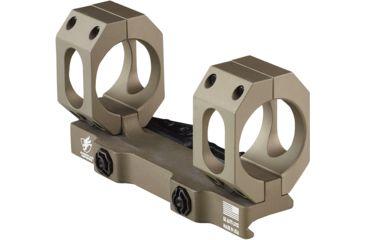 18-American Defense Recon-sl 30mm Q.d. Scope Mount No Offset Low