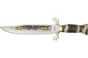 American Hunter Trophy Fixed Blade Hunter Knife AH373