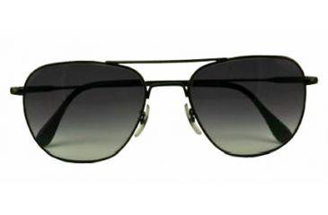 4639e68b8d American Optical Original Pilot LE Sunglasses w  Black Frame and  Polycarbonate Gradient Grey Lens BGRGRY