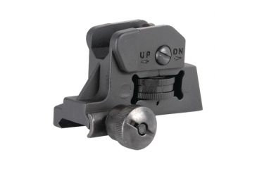 American Tactical Imports Flip Up Rear Sight For AR-15 Black