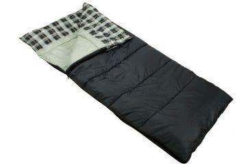 American Trails Cascade 5 Sleeping Bag, Black, 39x80 3MK2501Z