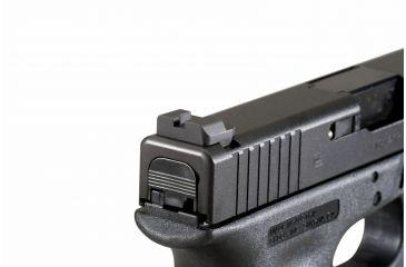 AmeriGlo Black Rear Sight Glock 20,21,29,30,31,32,36 plain Black Rear .315in. Height .165in. notch GL-412
