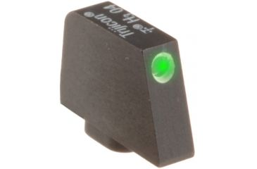 Ameriglo Night Sight, FRONT Only - Green w/ White Outline - For Glocks, .315 Height GL-112-315