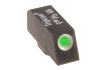 Ameriglo Night Sight, FRONT Only - Green w/ White Outline - For Glocks, .180 Height GL-112-180