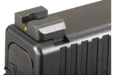 Ameriglo Night Sights - Classic Style - Yellow REAR Only - .272 inch Height, Fits Glocks 20,21,29,30,31,32,36 GL-121R