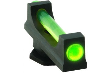Ameriglo Night Sights Fiber Rod Style Green Front Sight Only For All Glocks 165 Width Gf 165 130g