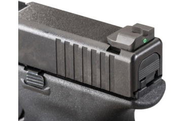 Ameriglo Night Sights - Pro Operator Style - Green REAR Only