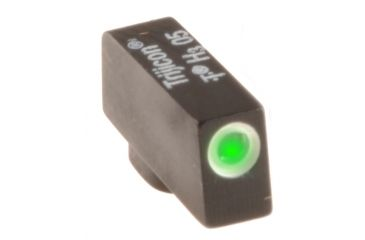 AmeriGlo Tritium Front All Glock Models .150in. Height x .125in. wide, Green with white Outline GL-112-150