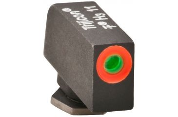 AmeriGlo Tritium Front All Glock Models .200in. Height, std. .140in. wide Pro Glo Front Sight, Orange Circle Outline GL-212-200-OR-C