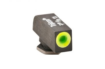 AmeriGlo Tritium Front All Glock Models .220in. Height, std. .140in. wide, Pro Glo Front Sight, limeGreen Circle Outline GL-212-220-GR-C