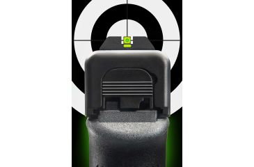 Ameriglo Glock Tritium Night Sights Lumi Line Up To 28