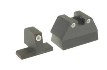 Ameriglo Tritium Night Sights FNP .45 With Suppressor Green Front Green Rear 3 Dot