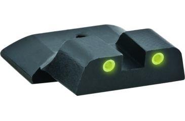 AmeriGlo Tritium Rear Sight M&P two Dot Rear, yellow w white Outline SW-802R