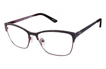 fae1ca4183f Ann Taylor AT002 Eyeglass Frames - Frame Eggplnt Crystal