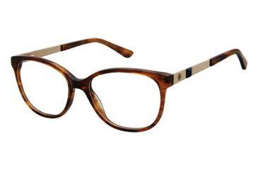 bb0d9422057 Ann Taylor AT331 Eyeglass Frames - Frame Brown Horn