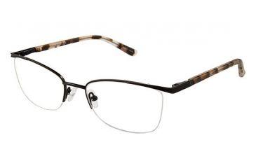 fb1e1e933db Ann Taylor AT601 Eyeglass Frames - Frame Mt Blk Wt Tort