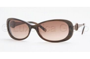 Anne Klein AK3155 Progressive Prescription Sunglasses AK3155-275-60-5717 - Lens Diameter 57 mm, Frame Color Brown Horn