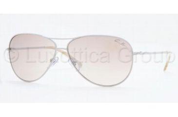 Anne Klein AK 4127 Sunglasses Styles - Taupe Frame / Beige Silver Mirror Gradient Lenses, 364-57-6011