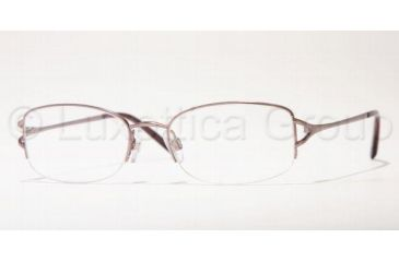 Anne Klein AK 9062 Eyeglasses Styles - Light Brown Frame w/Non-Rx 51 mm Diameter Lenses, 434-5118