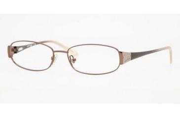 Anne Klein AK 9113 Eyeglasses Styles -  Brown Frame w/Non-Rx 51 mm Diameter Lenses, 495-5115