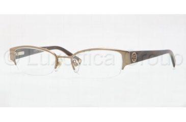 Anne Klein AK 9122 AK9122 Progressive Prescription Eyeglasses 574S-4918 - Satin Light Brown