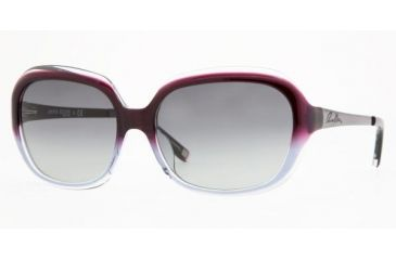 Anne Klein AK3167 #307/77 - Purple / Crystal Frame, Gray Gradient Lenses