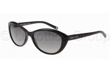 Anne Klein AK3175 AK3175 Single Vision Prescription Sunglasses AK3175-201-81-5717 - Lens Diameter: 57 mm, Frame Color: Black