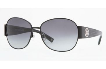 Anne Klein AK4131 #370/77 - Satin Black Frame, Dark Grey Gradient Lenses