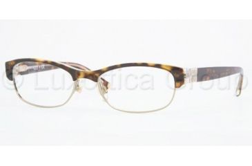 Anne Klein AK8099 Single Vision Prescription Eyewear 233-5017 - Tortoise/Crystal