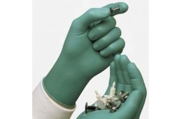 Ansell Healthcare Touch N Tuff Disposable Nitrile Gloves, Powder-Free, Ansell 585835