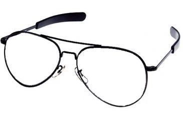 AO General Flight Gear Series Sunglasses - Frame Only, No Lens Black Frame 52mm Lens Diameter Bayonet Temples