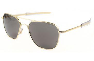 3f31e290f3 Ao American Optical Original Pilot Sunglasses Gold 52mm Green Lens ...