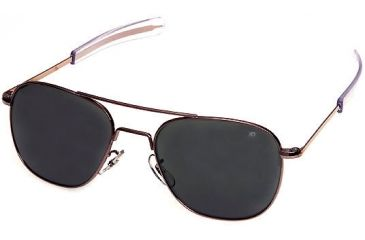 AO Original Pilot 55 mm Sunglasses w/ Amethyst Frame -