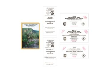 App Trail Guide Set 5 Pa, A.t.c., Publisher - Ap Trail Conservancy