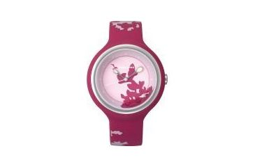 Appetime Kokage Mini Ladies Watch, Autumn Tint, Fuschia Band, Pink Face SVJ211108