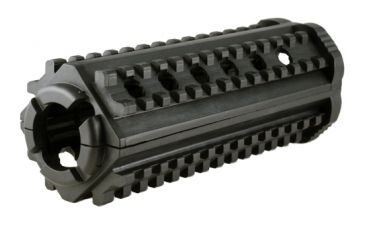 MFT AR15/M16 4 Sided Rail - Polymer - M-4 Carbine, Black M44S
